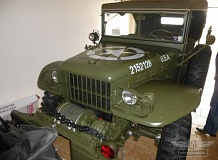 ретро автомобиль Dodge WC57 Command car